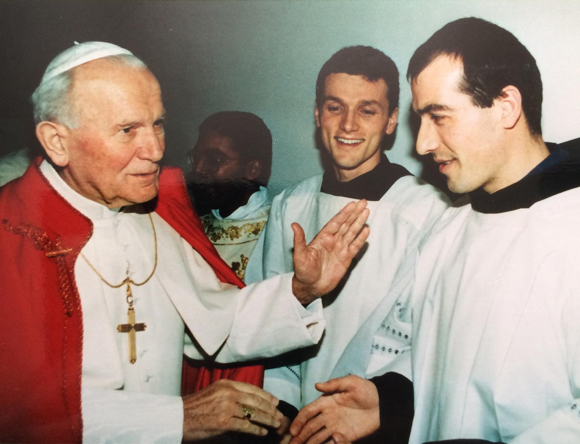 4. Il SANTO GIOVANNI PAOLO II Assisi (Perugia) - 10 ianuarie 1993